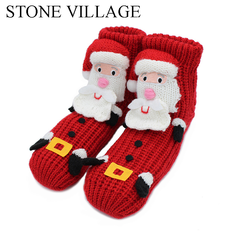 stone village new arrival 2018 christmas slippers cartoon cute ladies soft soled slippers women shoes indoor women slippers st87 in slippers from shoes on