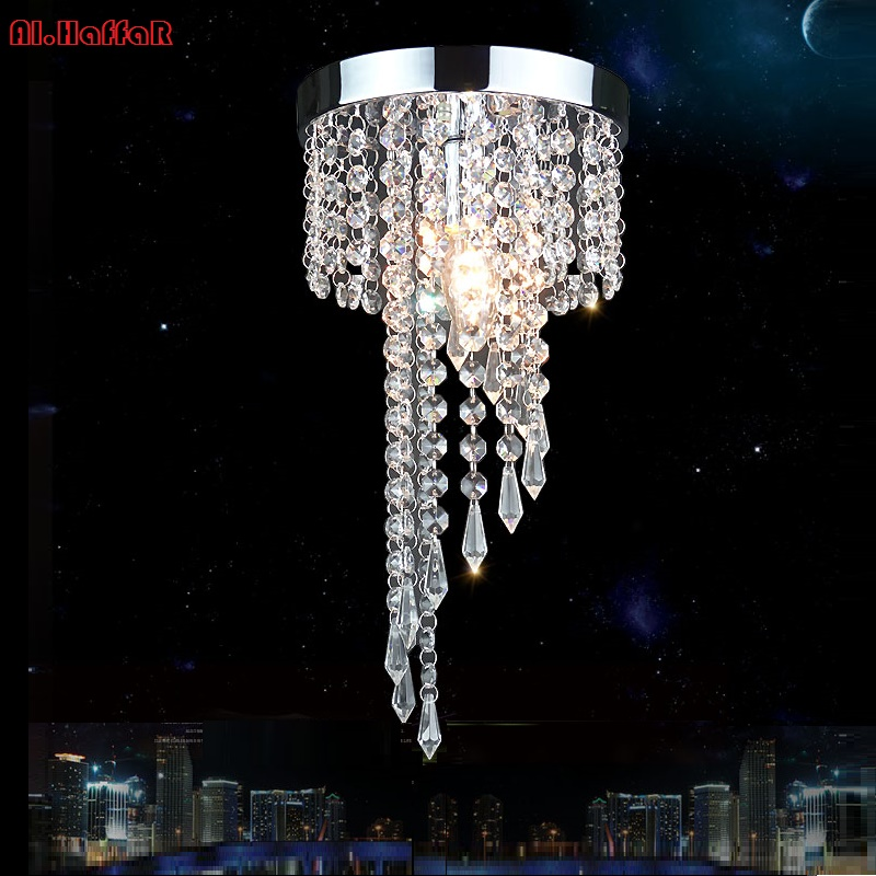цена на Modern LED Ceiling light Crystal Aisle lights crystal ceiling lamp LED balcony hallway lights porch lights corridor plafonnier