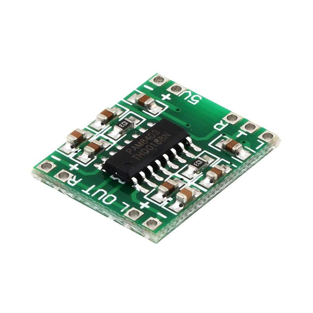 لوحة مضخم صوت رقمي مصغر جدًا من طراز PAM8403 من الفئة D للبيع بالجملة
