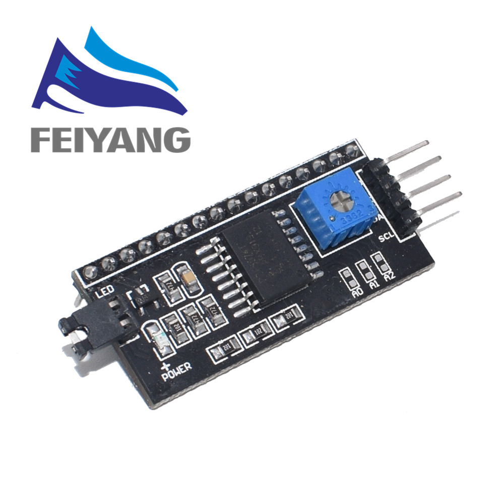 1PCS Serial Board Module Port IIC/I2C/TWI/SPI Interface Module 1602 LCD Display