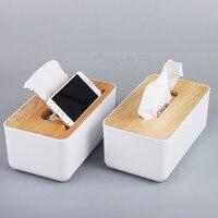European multi functional Toilet Paper Holder wooden paper roll Storage rack shelves Paper Box Kitchen Bathroom accessories