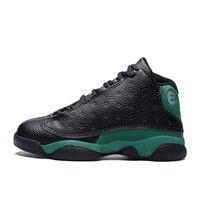 Spor ve Eğlence'ten Basketbol Ayakkabıları'de Erkek erkek basketbol ayakkabıları 2019 yeni bahar çocuklar spor ayakkabı açık büyük çocuklar kaymaz spor ayakkabı ayakkabı Jordan ayakkabı sepet spor