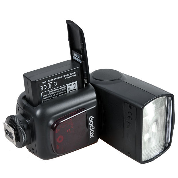 Godox VING V860C E TTL Li ion Manual Recycling Speedlite Flash For Canon Camera in Flashes from Consumer Electronics