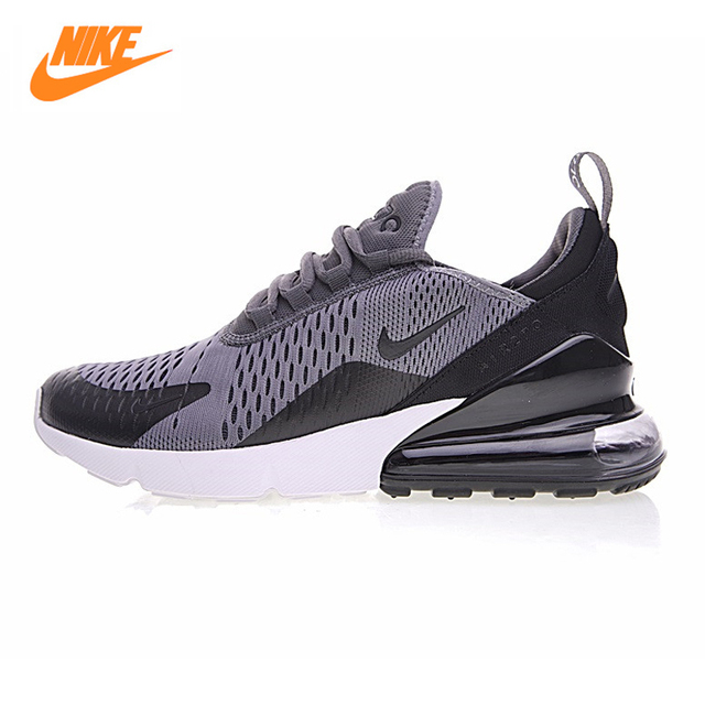 Nike Air Max 270 Men's Running Shoes, Outdoor Sneakers Shoes, Black Grey, Breathable