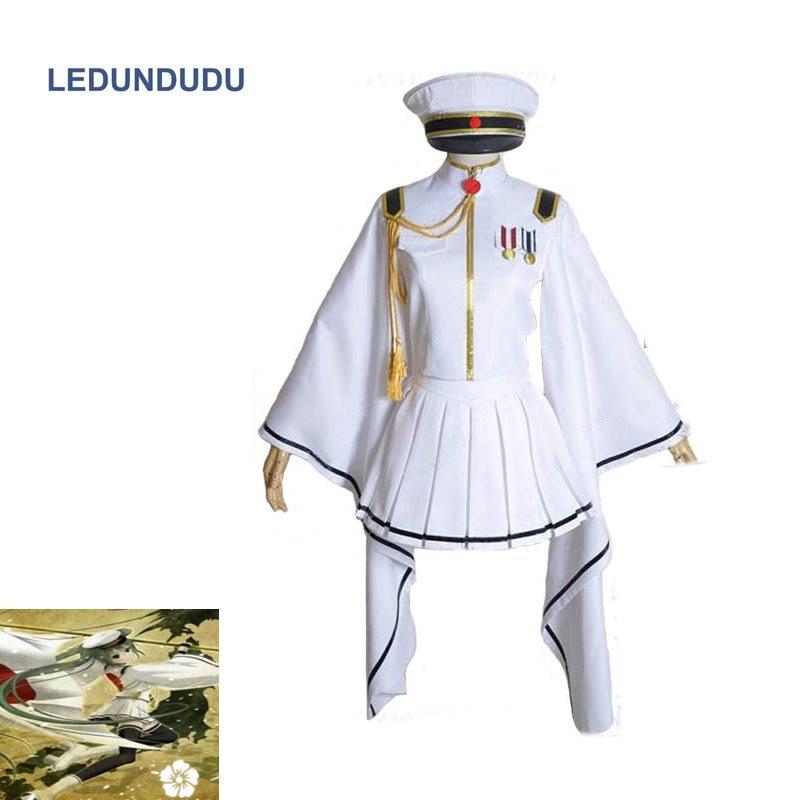 Anime Senbonzakura Vocaloid Hatsune Miku Cosplay Costume Army Uniform Full Suit