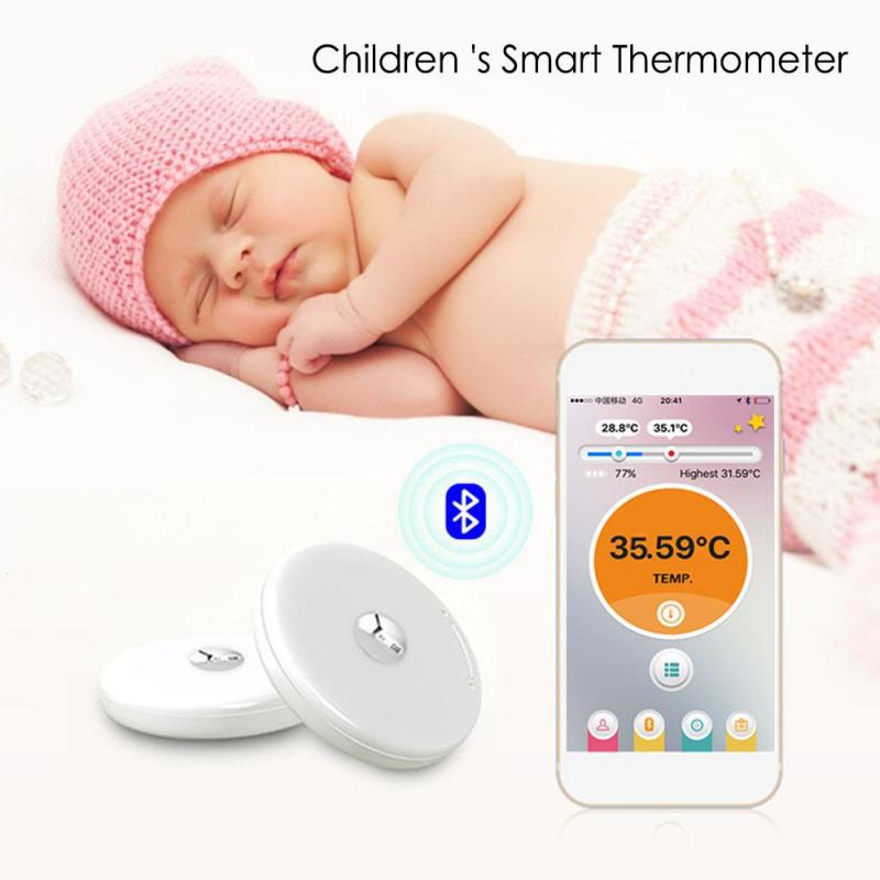 Smart Body Thermometer Temperature Monitor Baby Fever Intelligent Wearable Bluetooth 4.0 Digital Wireless Control Monitor L3 beurer видеоняня by88 smart baby monitor