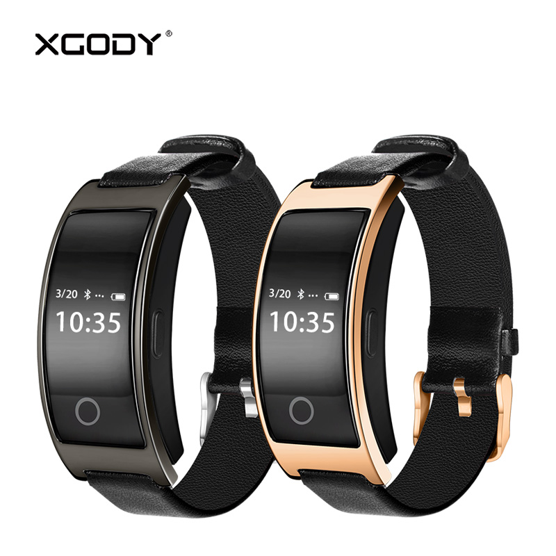 XGODY CK11S Smart Bracelet Activity Tracker Pedometer Calories Counter Heart Rate Monitor Smart Wrist Watch Blood Pressure BT4.0