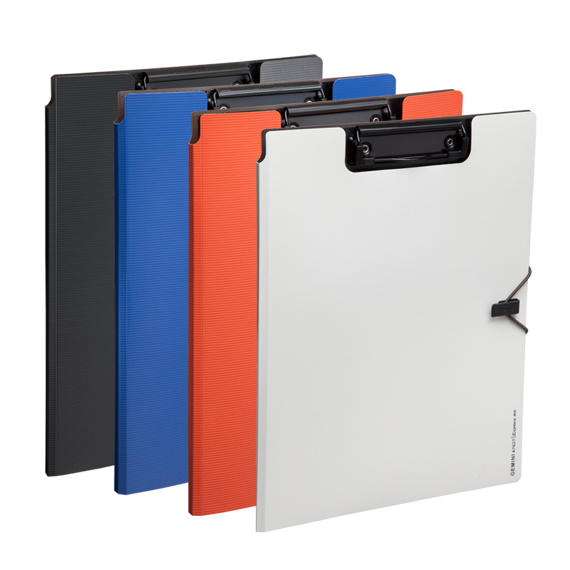 1pc  Creative Folder Student Papers WordPad Cartoon Folder A4 Writing Board Folder