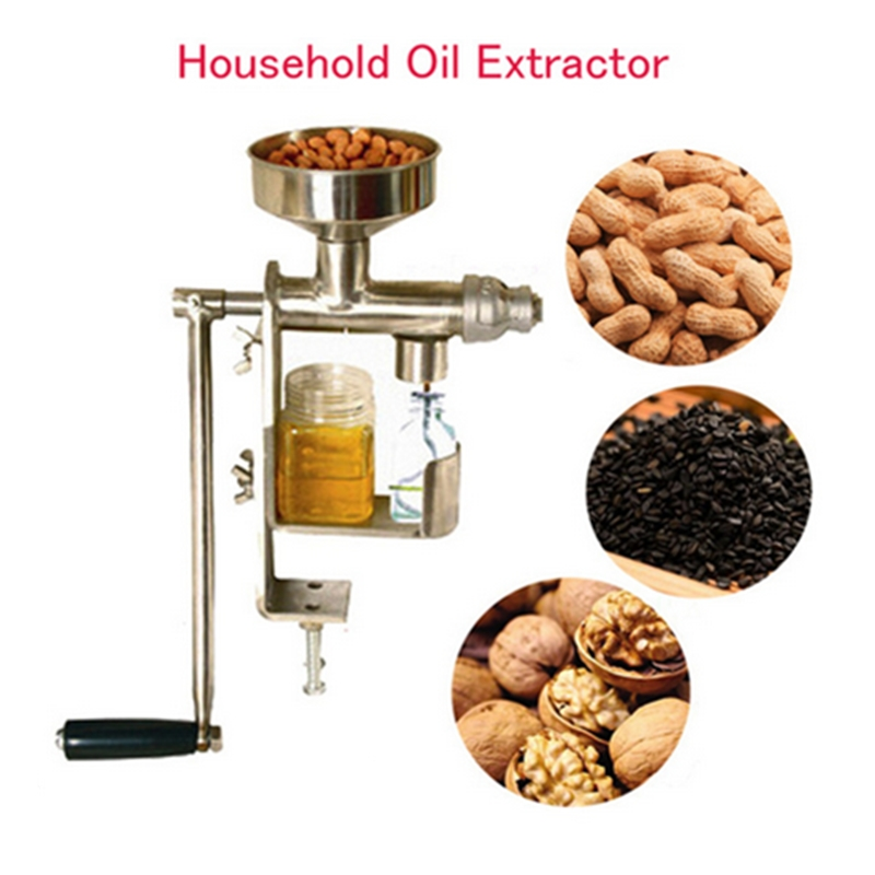 все цены на Home Use Manual Oil Press Machine Household Oil Extractor Peanut Nuts Seeds Oil Press Machine