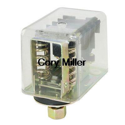 380V 16A 50-100PSI 1-Port Air Compressor Automatic Pressure Switch Control Valve 13mm male thread pressure relief valve for air compressor