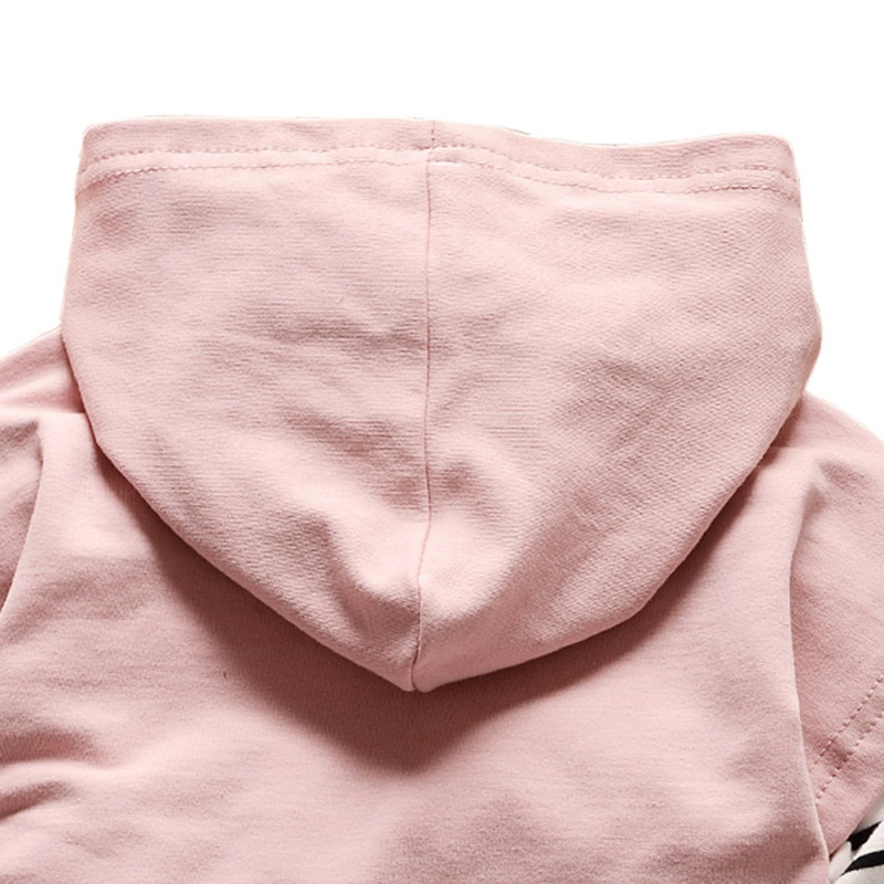 Autumn New Toddler Suit Boys Girls Children Clothing Long Sleeve Striped Hoodie Tops + Denim Pants Boys Sets