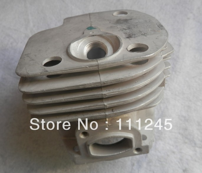 CYLINDER KIT 48MM SQUARE INLET PORT FOR HUS. CHAINSAW 365 ZYLINDER PISTON RING PIN CLIPS ASSY  503 69 10-73 chainsaw piston assy with rings needle bearing fit partner 350 craftsman poulan sm4018 220 260 pp220 husqvarna replacement parts