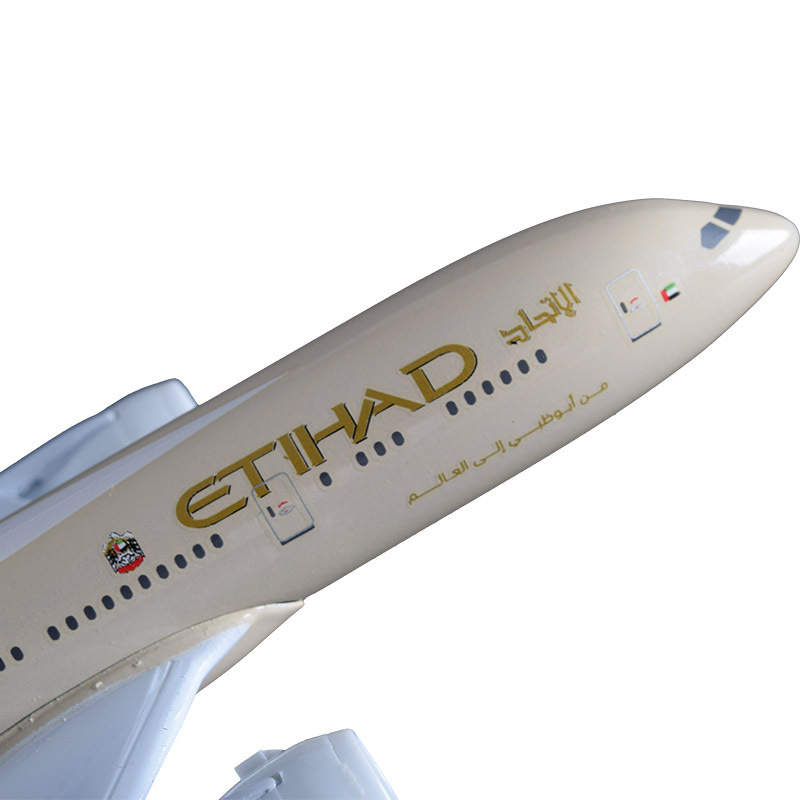 Image 3 - 20cm Etihad Aircraft Model B787 Crafts Alloy Boeing 787 Airline Airplane Aviation Souvenir Adult Children Birthday Gift Toysaircraft modelboeing 787aviation souvenirs -