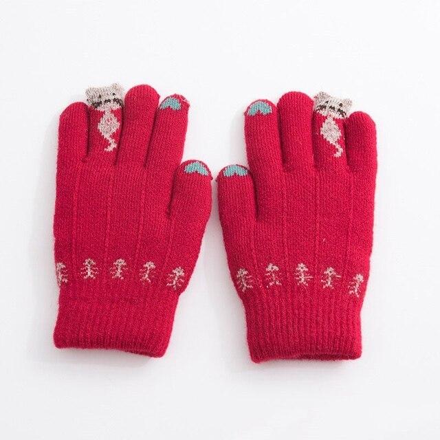 e1b4e5bb5 New Arrival Children Baby Gloves Winter Warm Baby Boys Girls Gloves Full  Finger Mittens Gloves for Children Toddler Kids Mittens