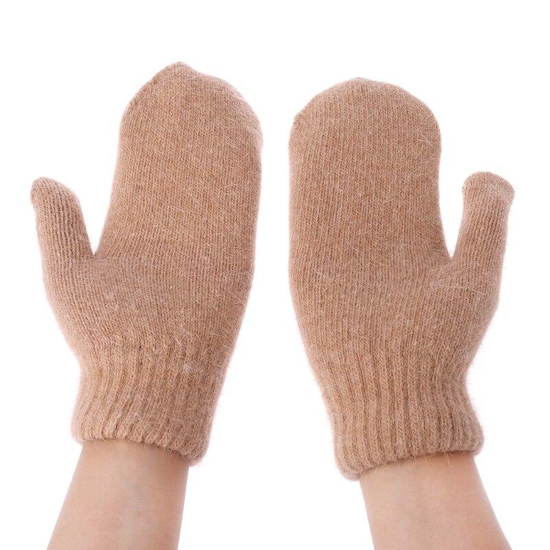 Aliexpress.com : Buy Lovely Female Winter Knit Wool Mitten ...