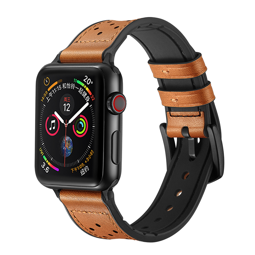 Apple Watch Band Brown 2
