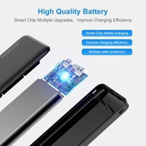 Image 3 - RAXFLY 10000 мАч power Bank для всех мобильных телефонов Dual USB портативный зарядный внешний аккумулятор Ультра тонкое зарядное устройство power bank for xiaomi повербанк внешний аккумулятор пауэр банк powerbank