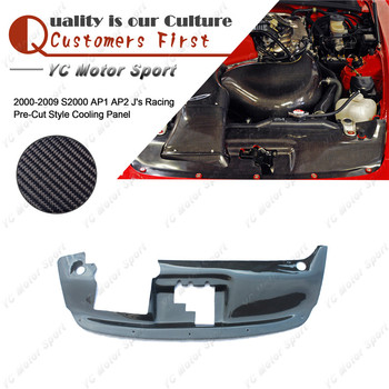 Car Accessories Carbon Fiber J's R Pre-Cut Style Cooling Panel Fit For 2000-2009 S2000 AP1 AP2 Cooling Panel