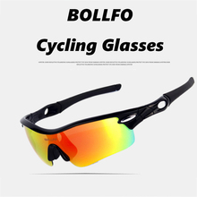 JOSHOCK Fishing Glasses Bicycle Polarized Riding Mirror Windproof UV Protection Outdoor Sports