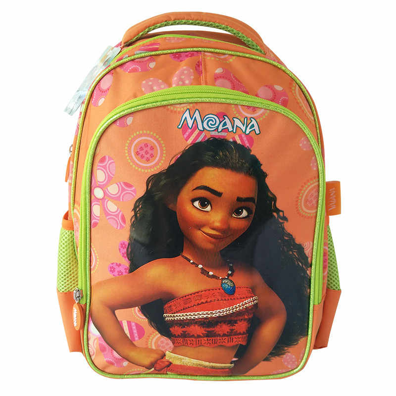12fc7705891 Princess Moana Bag Kindergarten Preschool Elementary School Backpacks Kids  Schoolbag Children School Bags for Girls Rucksacks