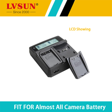 LVSUNชาร์จแบตเตอรี่สำหรับSony FinePix NP-FM50 NP-F330 NP-F530 NP-F550 NP-F730 NP-F750 NP-F750SPรุ่นNP-F930 NP-F950 NP-F960 NP-F970