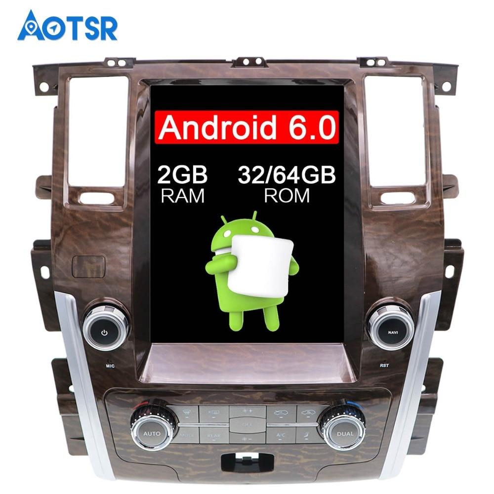 "12.1"" Android 6.0 RAM 2GB ROM 32/64GB Car DVD Player GPS Navi For NISSAN PATROL Armada 2010-2017 Radio Recoder Stereo Satnav"