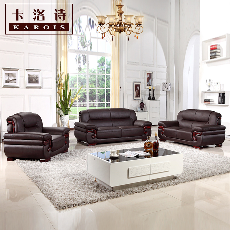 US $880.0 |leather sofa, sectional sofa, livingroom furniture, 123sectional  sofa corner sofa export wholesale-in Living Room Sofas from Furniture on ...