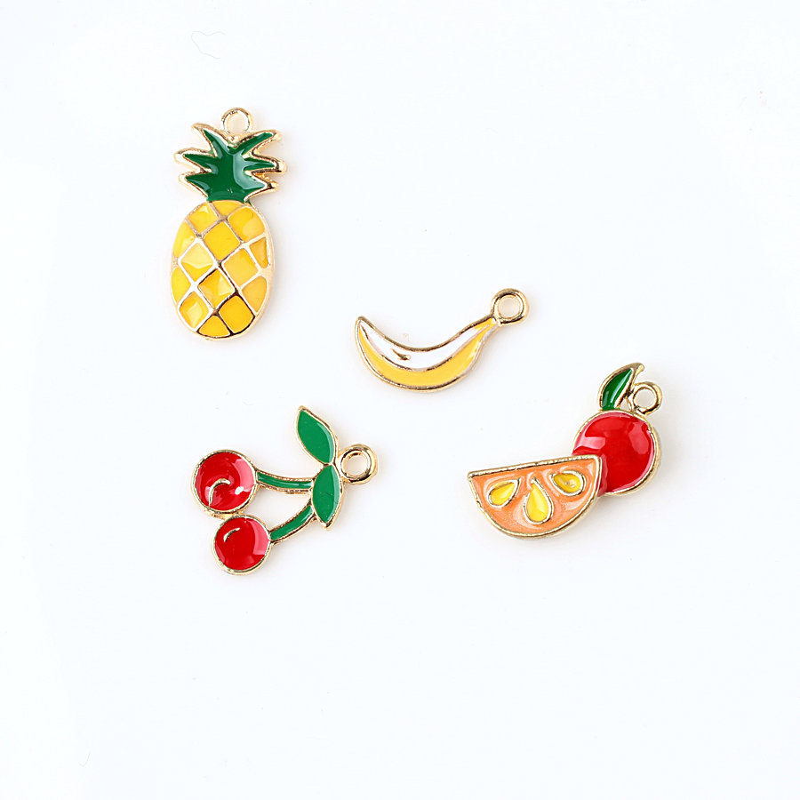 Decoration Anniversaire Hawaii Us 2 25 40 Off 10pcs Alloy Fruit Ananas Summer Decoration Birthday Hawaii Party Decorations Kids Adult Anniversaire Fille Accessories Diy 6 In Party