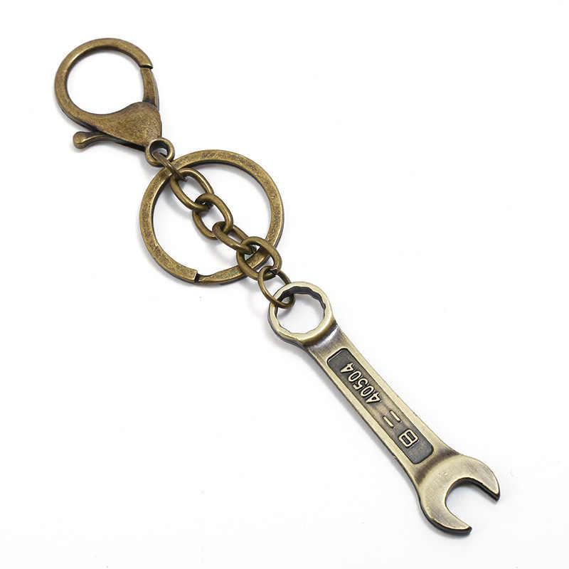 Lá Mặt Dây Chuyền Treo Cổ Hợp Kim Móc Khóa Móc Chìa Khóa Quyến Rũ cho Các Phím Chìa Khóa Xe Phụ Kiện Keychain trên MỘT Túi quà tặng cho người đàn ông