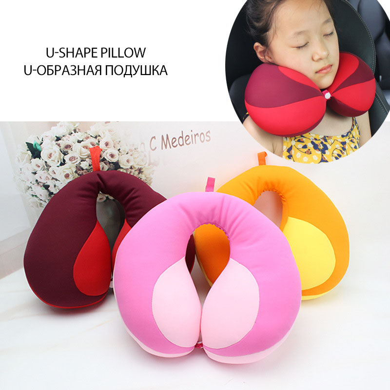 Baby Pillow For Newborns Travel Neck Pillow U-Shape For Car Headrest Air Cushion Children Car Seat Head Support Infant Baby