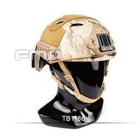 NEW Outdoor Tactical FMA Desert Digital FAST Helmet PJ AOR1 TB1186 for Airsoft Paintball