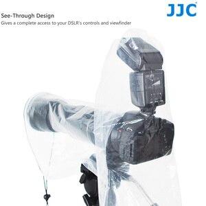 Image 3 - JJC 2PCS 방수 레인 커버 가방 보호대 캐논 EF 24 70mm 1:2.8L USM Nikon SIGMA TAMRON DSLR 카메라