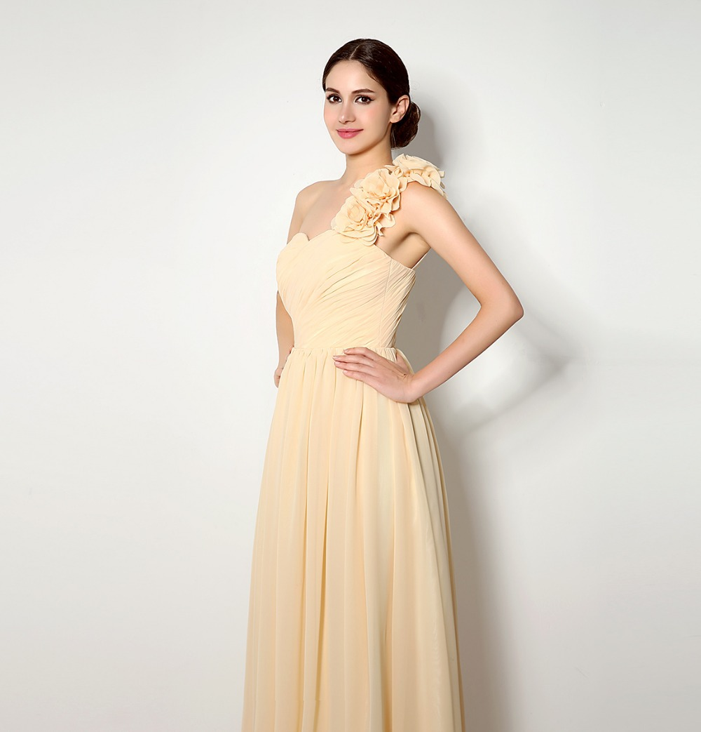 Aliexpress buy fast delivery long one shoulder chiffon aliexpress buy fast delivery long one shoulder chiffon bridesmaid dresses a line maid of honor dresses for wedding vestido de festa xhb01 from ombrellifo Image collections