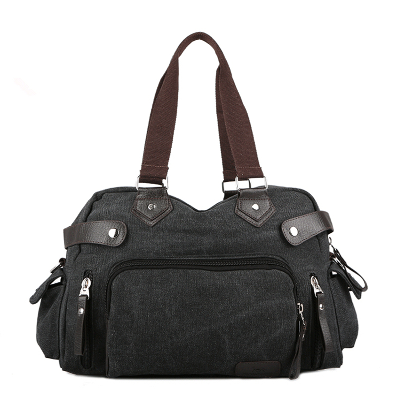 Military Men Bags Vinatge Canvas Messenger Bags trip daily Mens Crossbody Shoulder Bag Solid Male Travel Bag Women Mochila bolsa