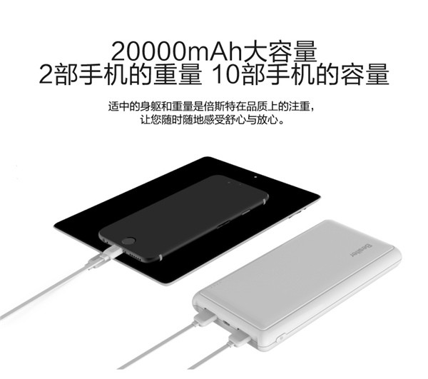 Besiter Beand 20000mAh Dual USB Power Bank (9)