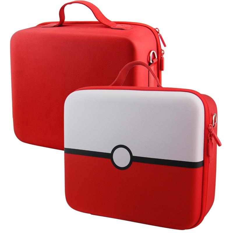 Купить с кэшбэком For Nintend Switch NS Console Accessories Storage Case Handbag Shoulder Bag for NS Switch Poke Ball Plus Controller Large Size