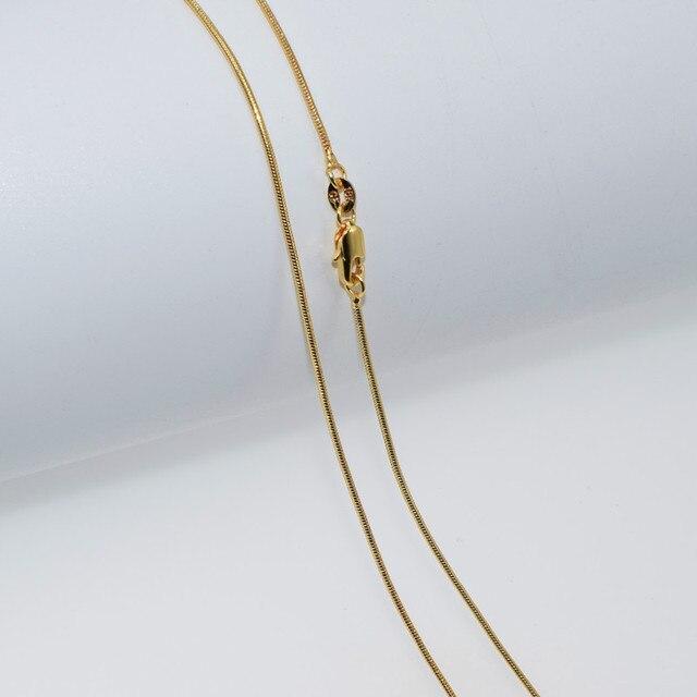 Купить ожерелье из серебра 16 30 пробы с золотым змеиным плетением