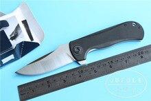 YIDU JUFULE modelo 0909 acampar al aire libre cuchillo plegable cuchillo de la lámina D2 g10 handle táctico de la supervivencia cuchillo de Cocina herramienta de mano