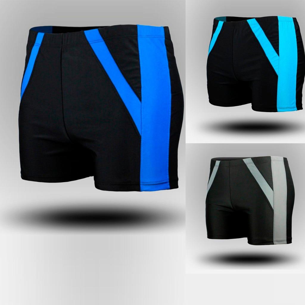 Boxer-Shorts Swimsuit Surfing Men's Beach Print Maillot-De-Bain Quick-Dry Half Running