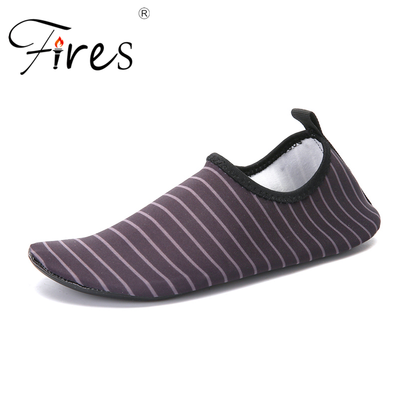 Fires Aqua Shoes Wading Men and Women Outdoor Breathable Beach Shoes Lightweight Quick-drying Wading Shoes Sport Water Camping