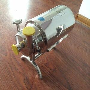 Image 2 - 610 0.37kw 220v50hz Food Grade ze stali nierdzewnej stali nierdzewnej alkohol pompa sanitarna pompa do mleka