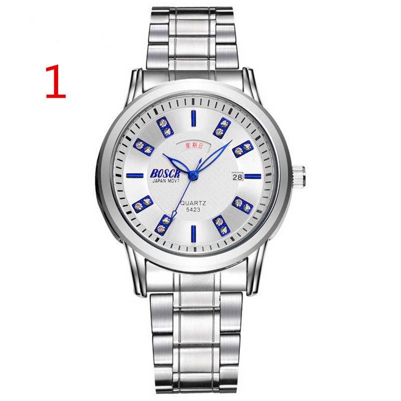 wu's 2018 new men's watch waterproof watch men's student version of the simple trend casual quartz fashion wang s student simple trend casual watch waterproof fashion men s 2018 new 17