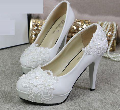 Talones super alta boda zapatos mujeres ronda toes plataformas ...