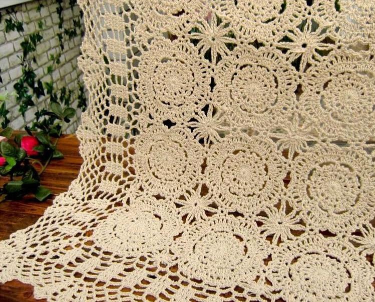 Envío libre 2014 caliente flores de ganchillo hecho a mano tejido de ...