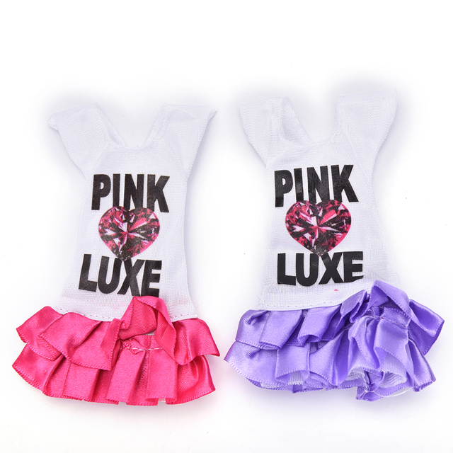 1pc Beautiful Fashion Handmade Dresses Clothes For Doll Dolls