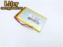 3.7v,4000mah 3570100 3370100 Plib (polymer Lithium Ion Battery) Li-ion For Tablet Pc mp4