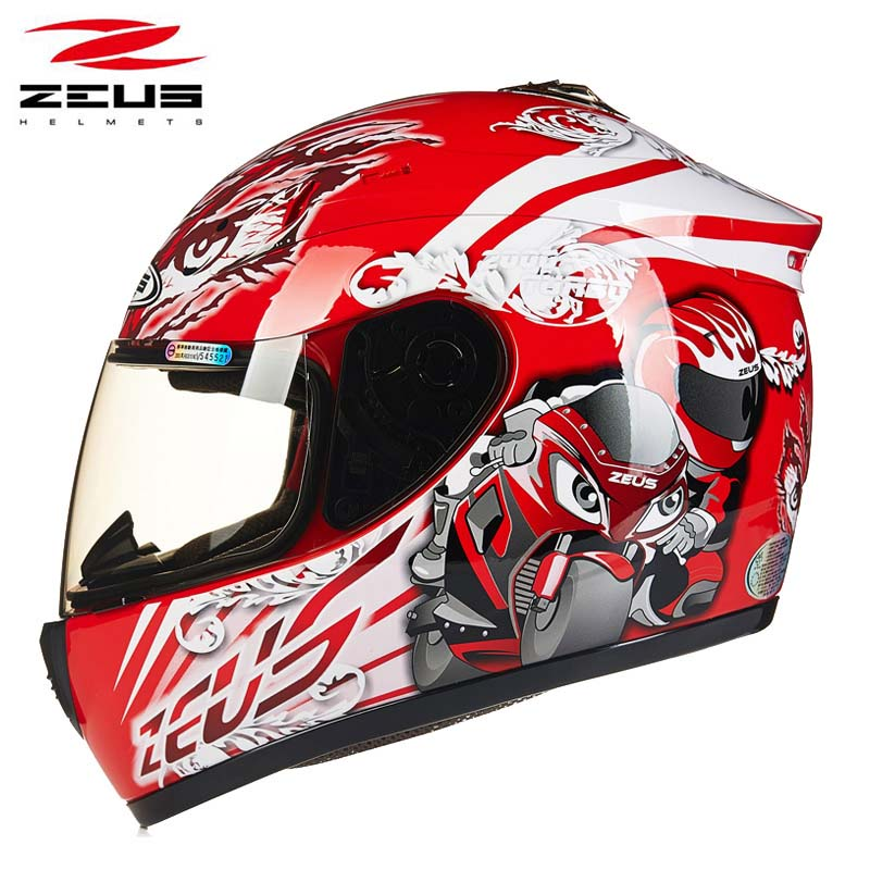 women red Racer Zeus motorcycle racing helmet,motorbike full face moto motocross off road helmet size M L XL XXL new tanked motorcycle full helmet double lens knight racing motorbike helmet safety caps ece certificate size l xl xxl