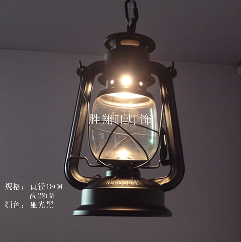 Hot Ing European American Quality Retro Barn Lantern Kerosene Lamp Pendant Lighting Indoor Fixtures Free Shipping In Lights From