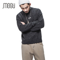 MOGU Pure Color Turtlenck Sweater Men 2017 Fashion Brand Autumn New Men S Thick Sweater Pullover