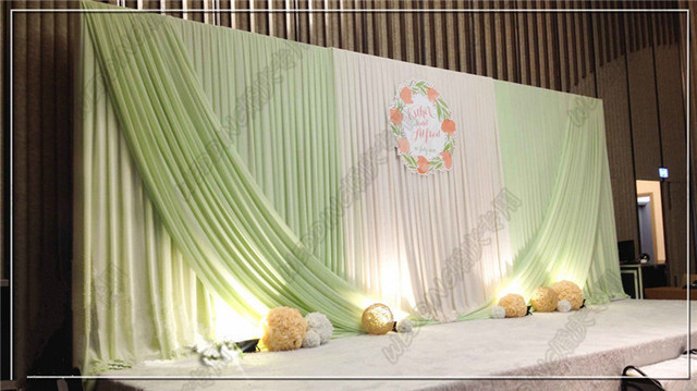 3m6m whitelight green backdrop wedding decoration supplies 3m6m whitelight green backdrop wedding decoration supplies wholesale party backdrop for stage decoration stage junglespirit Images